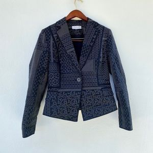 EMANUEL UNGARO one button blazer/jacket
